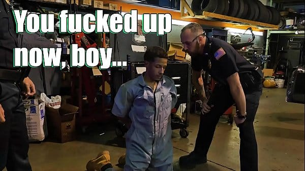 GAY PATROL – We Bust An Illegal Chop Shop Operation And Demand Justice… For Our Cocks